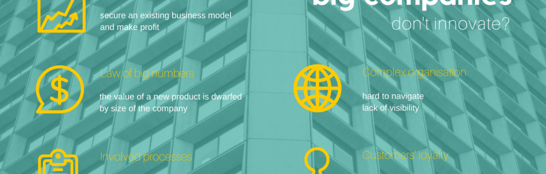 Why big companies don't innovate?